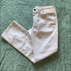 White Talbots Jeans
